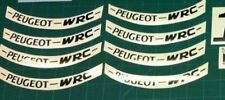 Peugeot Speedfight 2 wheel decals stickers graphic 206 WRC rally replica scooter