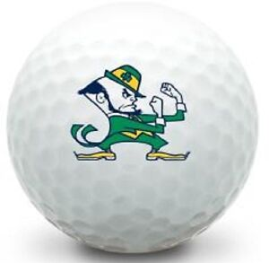 3 Dozen Callaway MIX AAAA NEAR MINT (Norte Dame Fighting Irish LOGO) Golf Balls