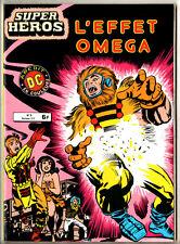SUPER HEROS n°8 ¤ L'EFFET OMEGA ¤ 1980 AREDIT DC