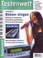 Tastenwelt 04 2000 Besser singen / Noten: Spider Murphy Hitmix + Lehrwerke