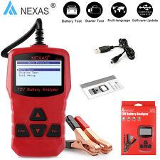NEXAS NB300 Auto 12V Car Battery Tester Check Starter Cranking Charging System