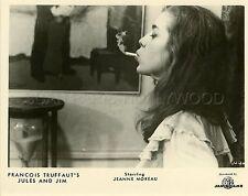 JEANNE MOREAU JULES ET JIM  1962 VINTAGE PHOTO ORIGINAL #3 TRUFFAUT