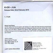(BB297) K-Os, Fun - DJ CD