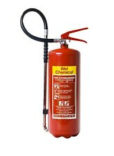 NEW 6 LITRE WET CHEMICAL FIRE EXTINGUISHER
