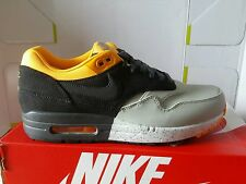NIKE AIR MAX 1 ESSENTIAL 97 GREY SCURO N.41 LEATHER BEAUTIFUL PRICE OKKSPORT