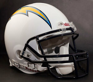 PHILIP RIVERS Edition SAN DIEGO CHARGERS Riddell AUTHENTIC Football Helmet NFL