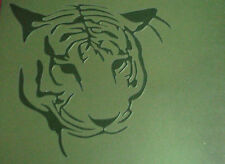 NEW A1 AIRBRUSH STENCIL TIGER Template Car Moto Interior Airbrushing Paint Craft