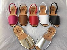 NEW Genuine Leather Menorcan Avarca Sandal/Shoe/Winter Sun/Holiday/beach/Cruise