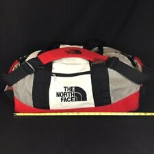VTG THE NORTH FACE Duffel Bag, Backpack, Carry-on, Red White Black Large, EUC