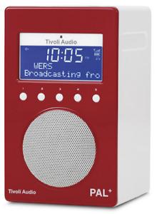Tivoli Audio Pal+ Portable FM/DAB+ Radio Red
