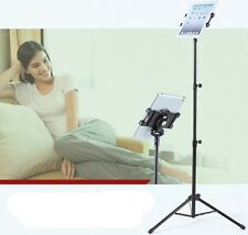 Foldable Tripod Multi Function Music Stand Holder Mount Apple Ipad 2 3 4 5 Air