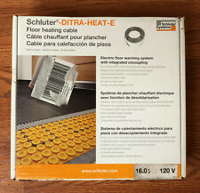 Schluter Systems Ditra Heat 120V Floor Heating Cable 16 Square Foot