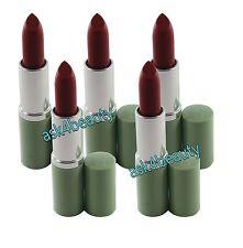 Lot of 5 Clinique Long Last Lipstick (All Heart) Mini N&U