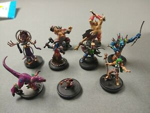 Blizzard 2008 World of Warcraft WOW Core R E C Tabletop Game Miniatures Lot of 9
