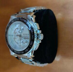 Orologio uomo breil Manta cronografo in acciaio Silver multifunzione TW0786
