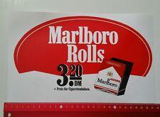 Aufkleber/Sticker A4: Marlboro Rolls - Tobacco Rolls (030316157)