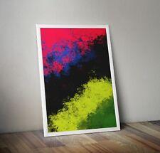 Abstract Prints Printable Wall Decor Downloadable Colorful Christmas by Williams