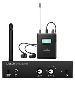 ANLEON S2 Professional Wireless In-ear Monitor System  IEM System 863-865MHZ