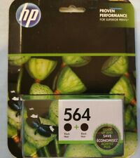 HP 564 Ink cartridges Twin Pack Ink New Black Sealed HP564