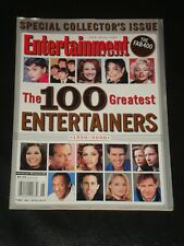 ENTERTAINMENT WEEKLY magazine 1999, The 100 Greatest Entertainers of All Time