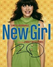 Zooey Deschanel New Girl Actress Signed 8x10 COA Almost Famous Live 2