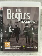 THE BEATLES ROCKBAND. JEUX PS3 AVEC NOTICE PLAYSTATION