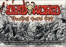 DEAD WORLD 2012 BREYGENT COMPLETE FACTORY BASE CARD SET OF 72 MC
