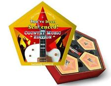 "COUNTRY MUSIC Edition CARD GAME Family Word Combination ""YOU'VE BEEN SENTENCED"""