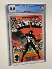 Marvel Super Heroes Secret Wars 8 CGC WP 1984 8.0 Marvel