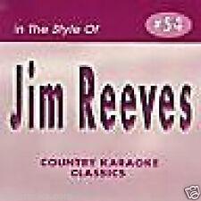 Jim Reeves Karaoke CDG 16 Songs FOUR WALLS Welcome To My World BIMBO Home ++