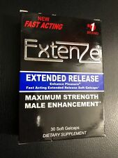 Extenze Maximum Strength Extended Release 30 Cap Male Enhancement Exp. MAY 2019