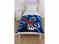 "Character World Lego Star Wars ""Galaxy"" Rotary Bedroom Fleece Throw Blanket BLUE"