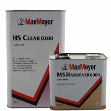 Max Meyer 0200 2K Clear Coat Car Lacquer 7.5ltr Kit