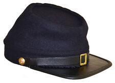 American Civil War Reenactment Quality Union Blue Wool Kepi Cap XLarge 60/61cms