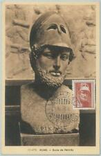 81358 - GREECE - Postal History - MAXIMUM CARD - 1954 ART  Mythology ARCHEOLOGY