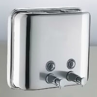 1500ml Edelstahl Wandmontage Seifenspender Shampoo Spender Seife Dispenser