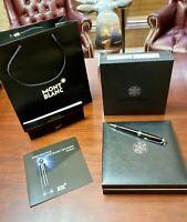 Montblanc Meisterstuck Platinum Diamond Classique Ballpoint Pen 105980 M23796