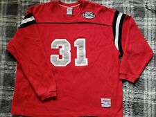 Players University Kenlo Brand Red Jersey Sweater Rare Vintage Hip Hop Pop XL