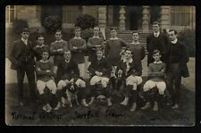 More details for bangor, normal college football team 1907- 08 - real photographic postcard