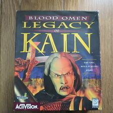 BLOOD OMEN Legacy of Kain PC CD ROM BIG BOX GIOCO DA ACTIVISION