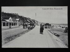 Dorset BOURNEMOUTH Undercliff Drive & EAST BEACH CAFE c1906 by J.E. Beale Ltd