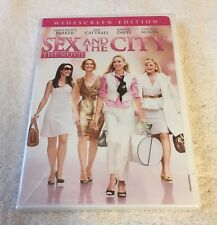 SEX AND THE CITY THE MOVIE WIDESCREEN EDITION  DVD BRAND NEW SEALED, FREE S&H