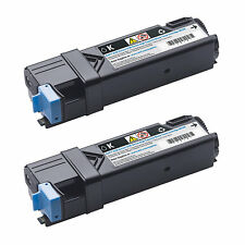 DELL TONER 6000 pg high yield twin pack 899WG  331-0720  NEW OEM  2150 2155