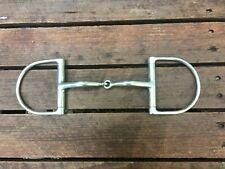 "5 1/2"" 5.5"" MYLER TOKLAT Dee-ring snaffle without hooks - NICE! Retail $86"