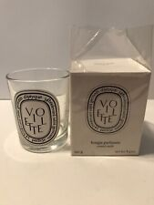 DIPTYQUE VIOLET VIOLETTE EMPTY GLASS JAR 6.5 OZ WITH BOX