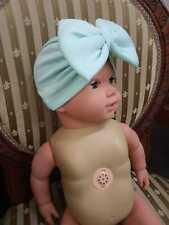 Baby Hat Girls Bows Turban Hat Infant Photography Props Kids Beanie Children