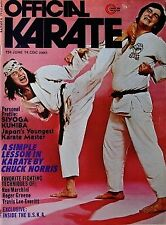 6/74 OFFICIAL KARATE JOE LEWIS RON MARCHINI BLACK BELT KUNG FU MARTIAL ARTS