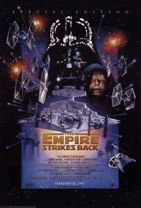 Star Wars Movie Poster * Empire Strikes Back 302441 * Reprint * 13 x 19