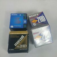 SONY and Maxell 30 Micro Floppy Disks High Density