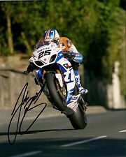 Josh Brookes 16 x 12 Isle of Man TT 2014 Agos Leap Signed Picture.